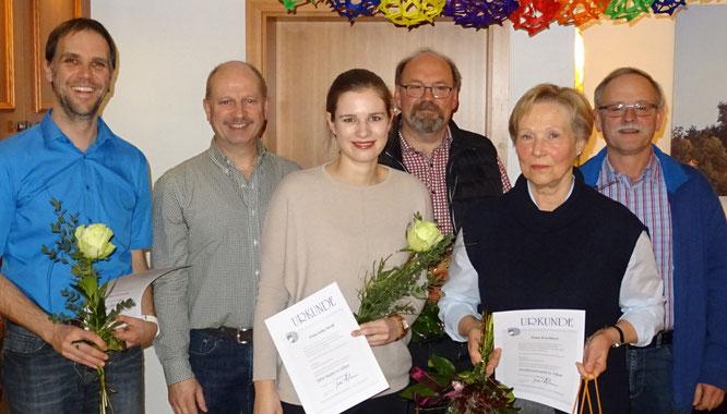 Ralf Griesinger, Richard Weiß, Julia Weiß, Michael Sternberg, Eva Sterr, Norbert Meyer