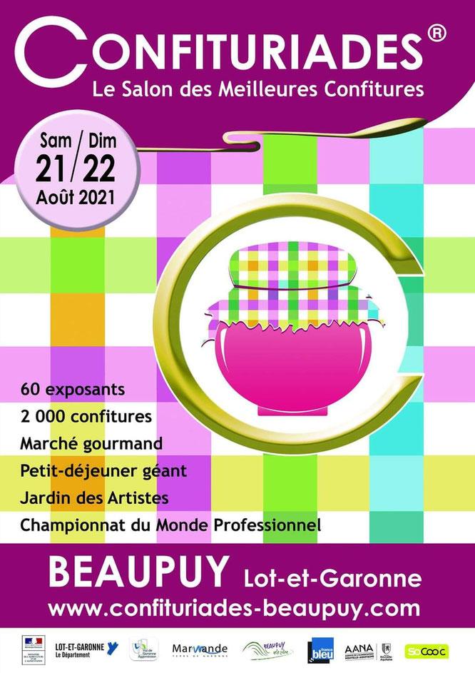 Crédit photos : Confituriades de Beaupuy - Actualités gastronomiques - Gourmandises TV