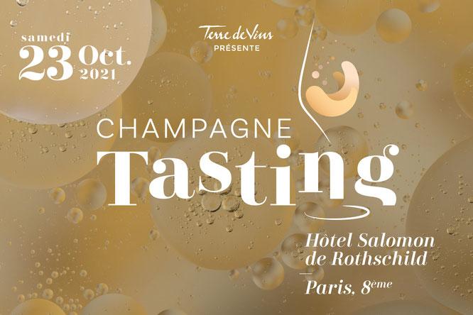 4ème édition de Champagne Tasting - 23 octobre 2021 à l'Hôtel Salomon de Rothschild à Paris. Gourmandises TV