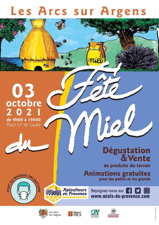 Arcs-sur-Argens (83) : Le 3 octobre 2021 l'Apiculture provençale fête ses miels - Gourmandises TV