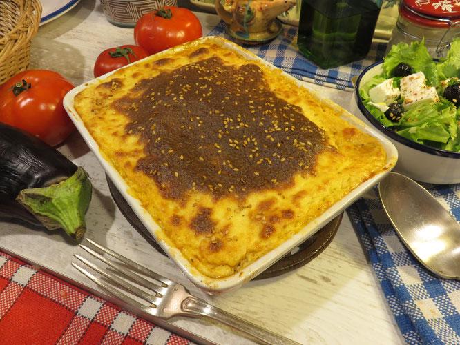 VÉRITABLE MOUSSAKA GRECQUE maison - Facile à faire, une véritable recette estivale et savoureuse ! Gourmandises TV