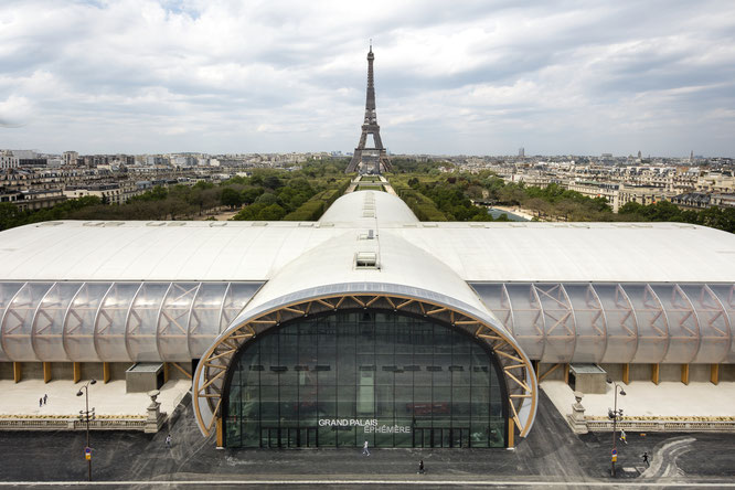Taste of Paris 2021 - Installé au sein du Grand Palais Éphémère situé en face de la Tour Eiffel