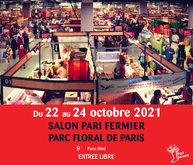 Parc floral de Paris-Vincennes, du 22 au 24 octobre 2021, le retour de PARI FERMIER