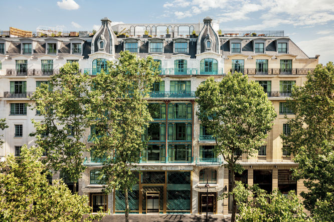 L'ancienne « Samaritaine de Luxe » devient le Kimpton St Honoré Paris - Ouverture le 23 août 2021 - Gourmandises TV
