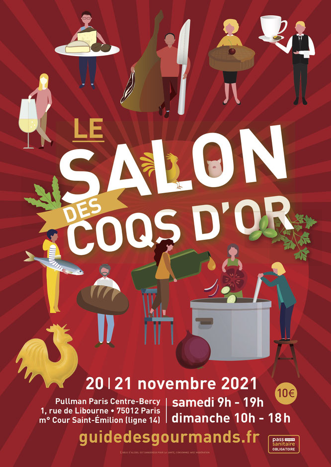 PARIS : Le Salon des Coqs d'Or revient les 20 et 21 novembre 2021  à l'hôtel Pullman Bercy
