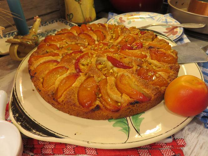 GÂTEAU AUX ABRICOTS de la Mère Mitraille un délice pour le goûter et le p'tit déj - Gourmandises TV