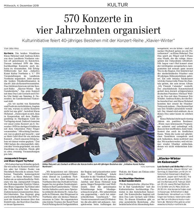 Göttinger Tageblatt, 04.12.2019