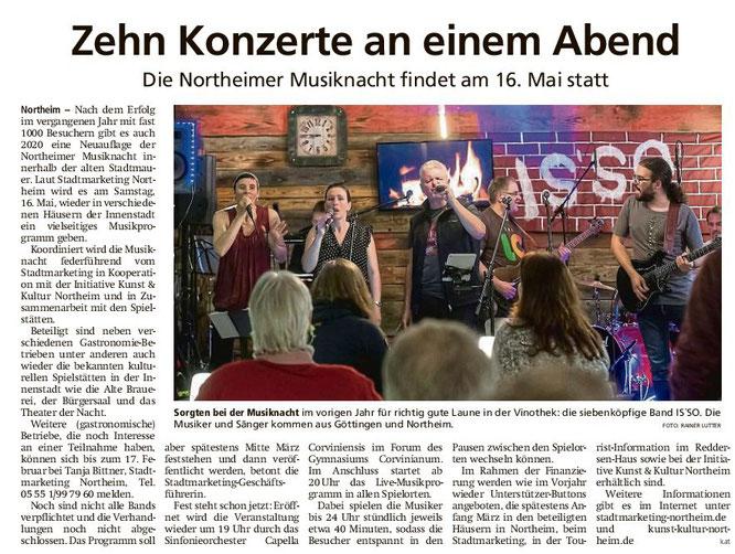 Northeimer Neueste Nachrichten, 14.02.2020