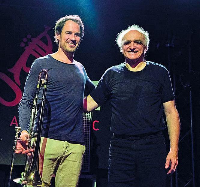 "Nils Wogram - Helmut ""Joe"" Sachse / Foto: M. Creuziger"