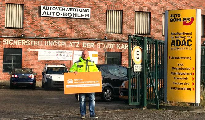 Autoverwertung Böhler Karlsruhe