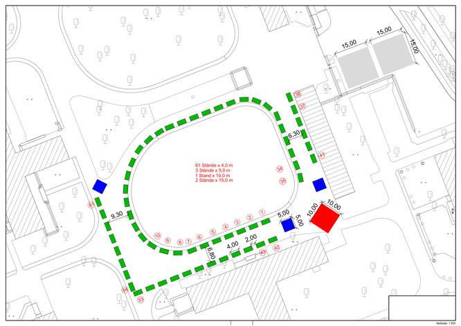 Standplan GrAnge-Fest Gremmendorf (schematisch)