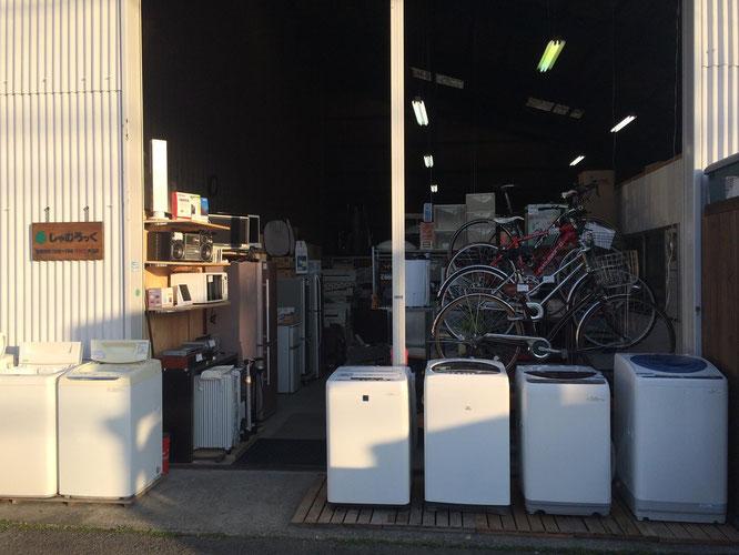 リサイクルショップしゃむろっく01 愛媛県松山市
