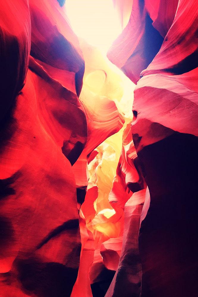 ローワーアンテロープキャニオンの写真