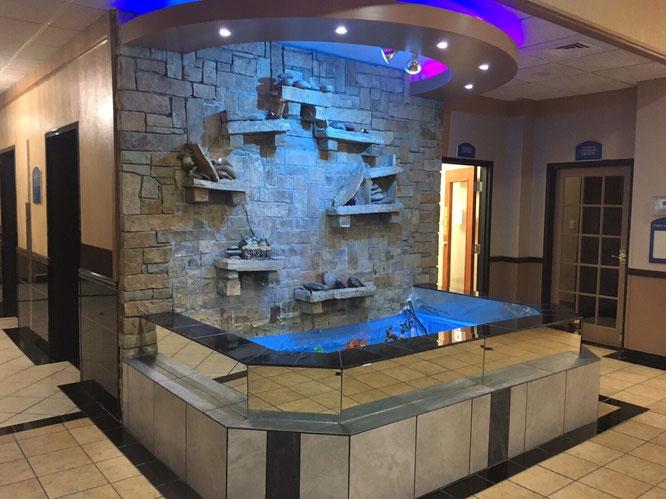 ホテル アメリカ 噴水