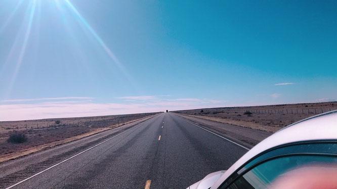 アメリカ 道