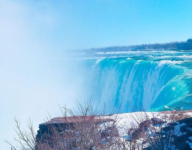 アメリカ カナダ ナイアガラの滝