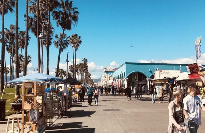 ロサンゼルス ベニスビーチ BIRD レンタサイクル