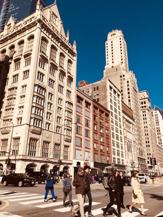 アメリカ シカゴ 街並み