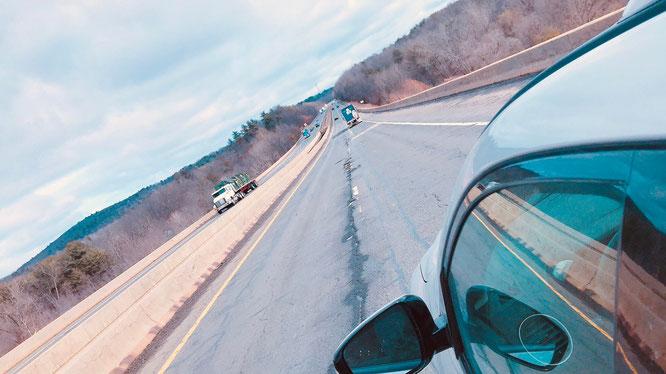 アメリカ 田舎 横断 ドライブ