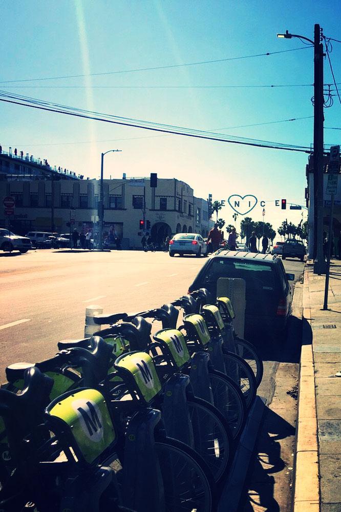 MetroBike ロサンゼルス シェアリング自転車