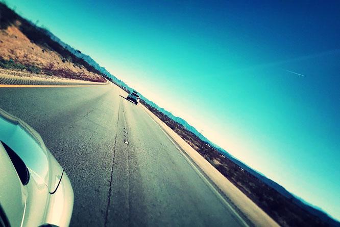 アメリカ ラスベガス 道のり
