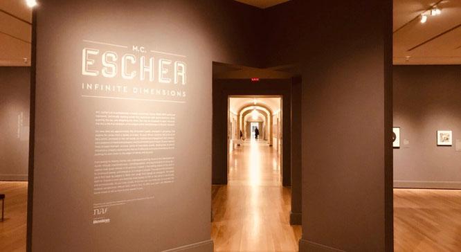エッシャー ボストン美術館 ブース