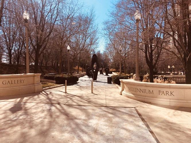 シカゴ アメリカ ミレニアムパーク