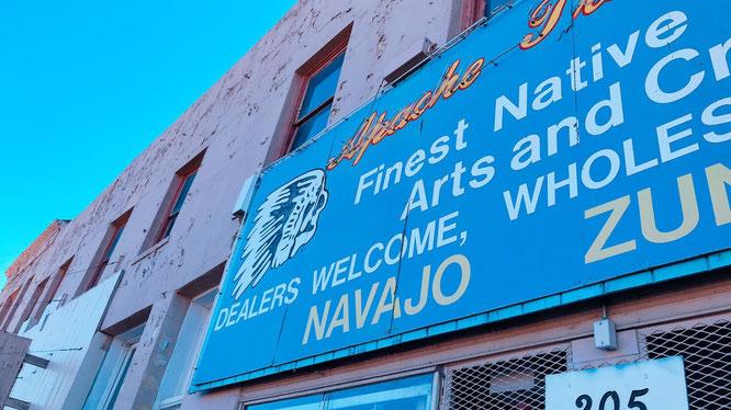 ナバホネイションのお店