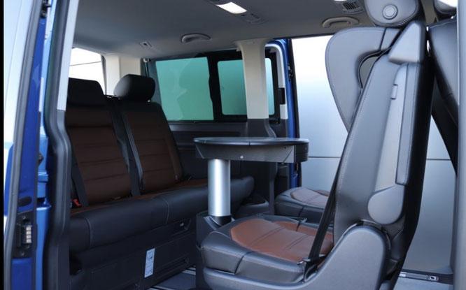 Innenraum Volkswagen Multivan