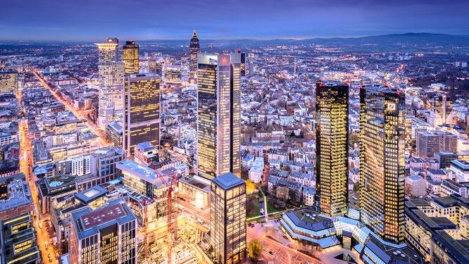 maintower, frankfurt, main, stadt, hessen, bank, sparkasse, deutschebank, city, wolkenkratzer
