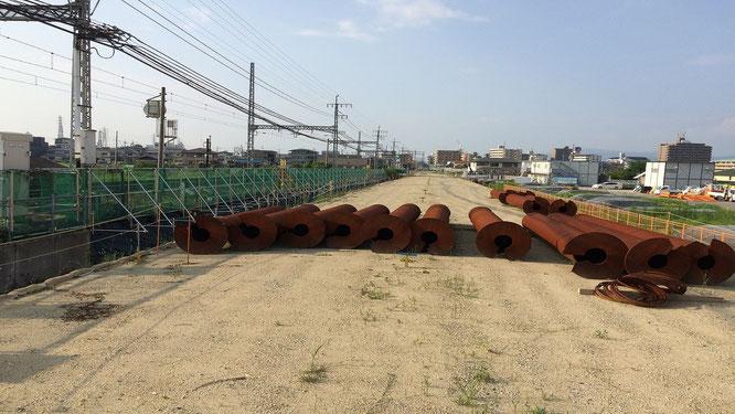 富田林 近鉄高架化工事