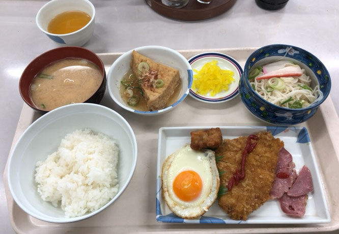 富田林警察署ランチ