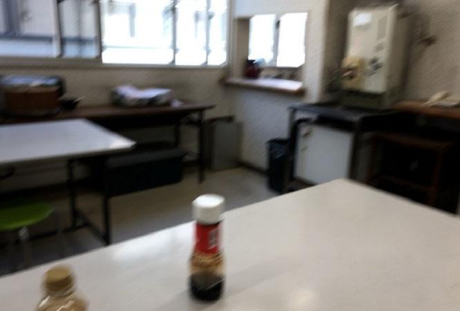 富田林警察署 食堂