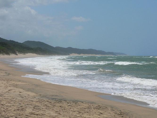 herrlicher, weiter Strand