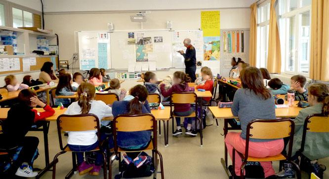 Intervention auprès des élèves