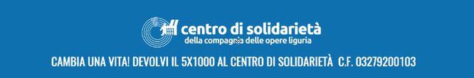 centro di solidarietà 5x1000 cinque per mille onlus associazione volontariato