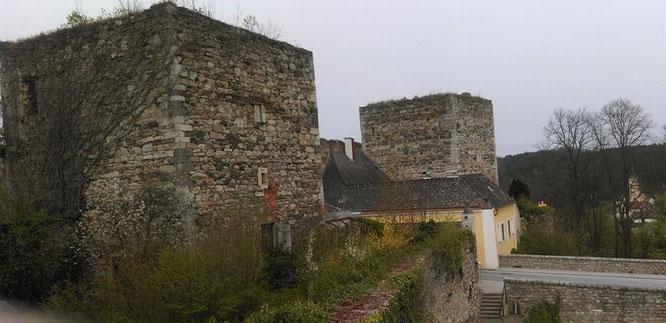 Das Horner Tor aus ungewöhnlicher Perspektive. Foto: Cordula Bösze