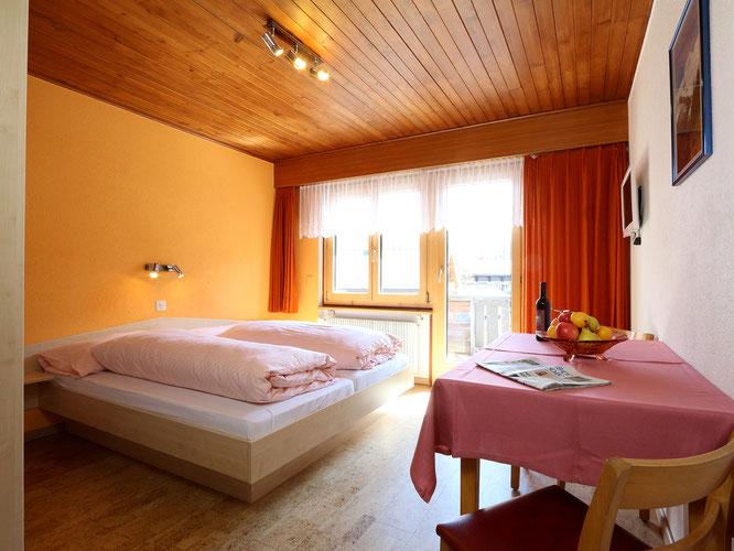 Hotel garni Domino Saas-Fee, Doppelzimmer