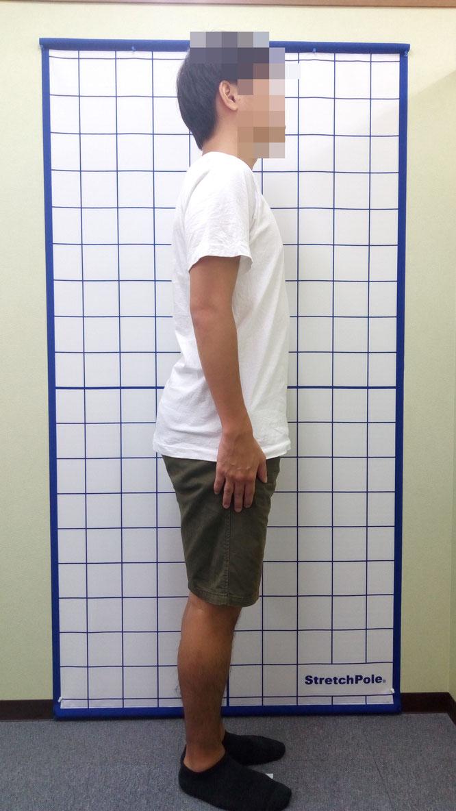 ぽっこりお腹 骨盤前傾 姿勢改善