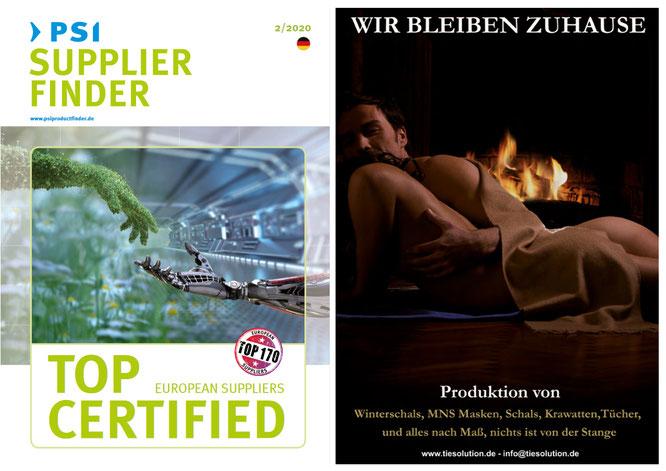 PSI Supplier Finder Magazin 2020