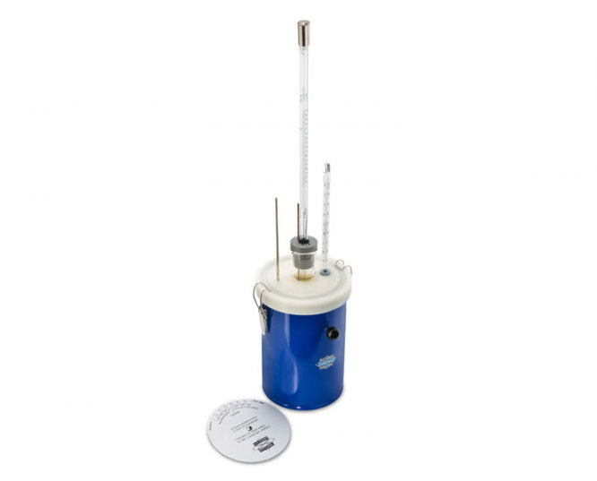 Crioscopio con estándar Gerber