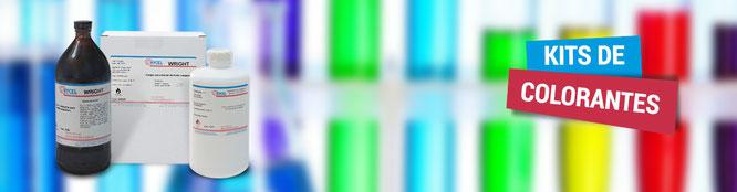 Distribuidor proveedor Proquisur kits-colorantes-hycel en México, CDMX