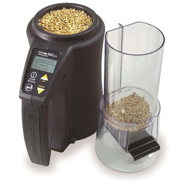 Analizador de humedad en granos portátil mini GAC® Plus