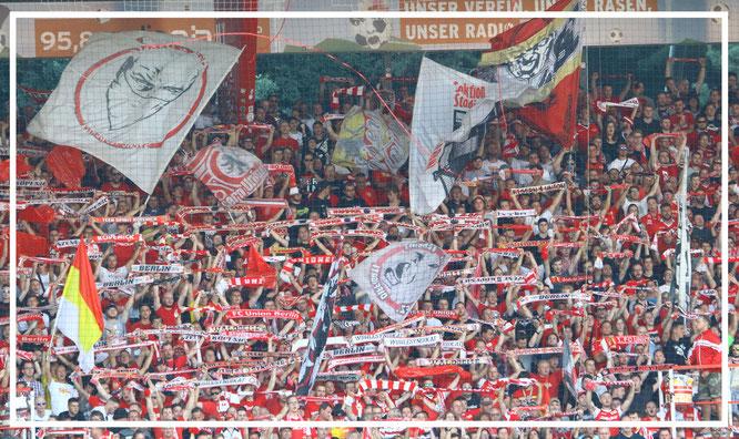 Union Berlin: Der Fanblock
