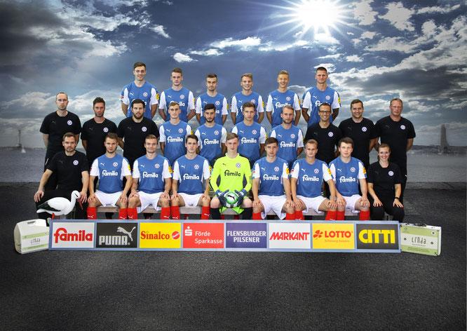Die U23 der KSV Holstein. Foto: PN