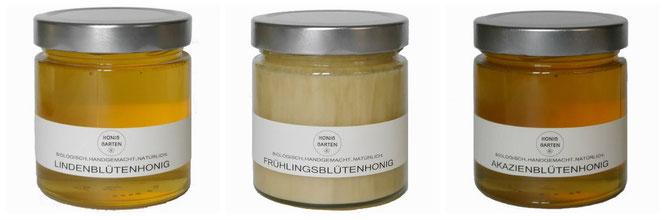 Honigglas Honiggarten