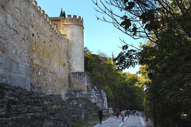 Muralla norte de Segovia