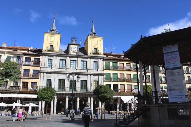 Ayuntamiento de Segovia en Plaza Mayor