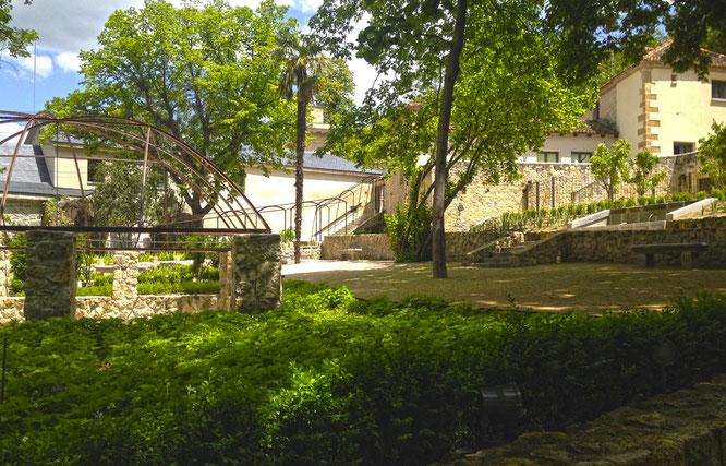 El Jardín del Rey en La Casa de Moneda de Segovia