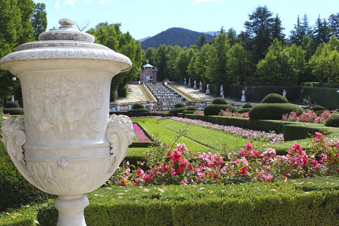 Jardines palacio de la granja segovia segovia un buen plan for Jardines de san ildefonso